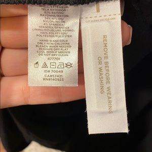 LOFT Dresses - LOFT Long Sleeve Wrap Dress in Black NEW w/tags